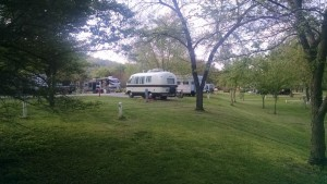 Beautiful evening in the campground!
