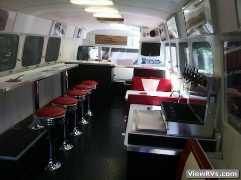 1997 Airstream Custom Diner Trailer A Viewrvs Com